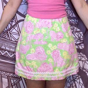 Vintage Lilly Pulitzer mini skirt